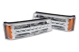 Anzo® - Chrome LED Parking Light / Turn Signal G2