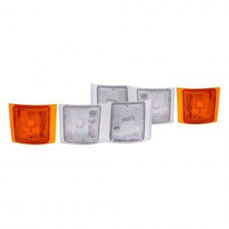 Anzo® - Chrome/Amber Euro Corner Lights