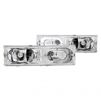 Anzo® - Chrome Halo Euro LED Headlights