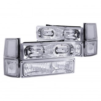 Anzo® - Chrome Halo Headlights