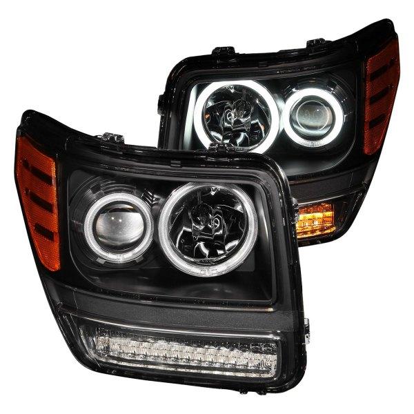 Dodge Nitro With Factory Halogen Headlights 2010