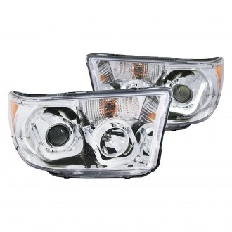 Anzo® - Chrome LED U-Bar™ Projector Headlights