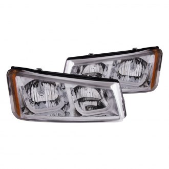 Anzo® - Chrome LED U-Bar™ Headlights