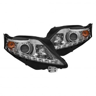 Anzo® - Chrome Projector Headlights with Parking LEDs
