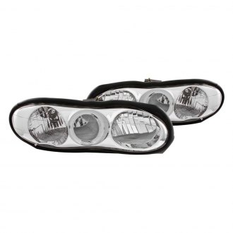 Anzo® - Chrome Halo Euro Headlights