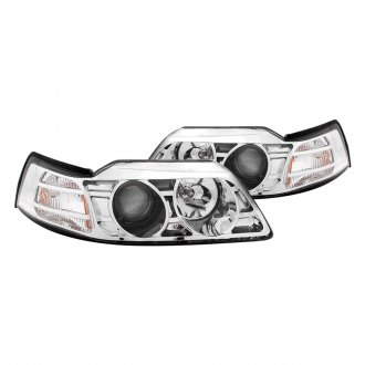 Anzo® - Chrome Projector Headlights