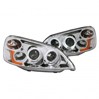 Anzo® - Chrome LED Halo Projector Headlights