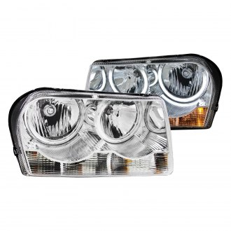 Anzo® - Chrome CCFL Halo Euro Headlights