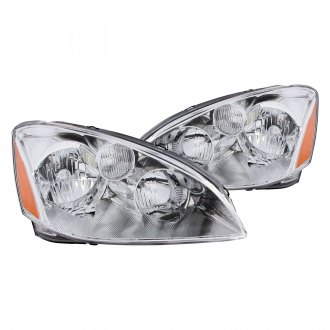 Anzo® - Chrome Euro Headlights