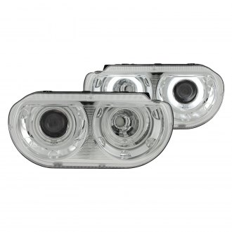 Anzo® - Chrome CCFL Dual Halo Projector LED Headlights