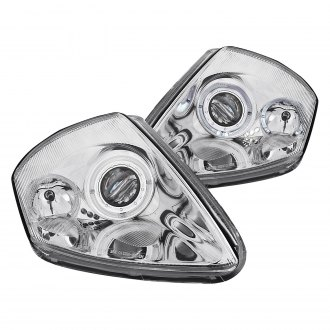 Anzo® - Chrome Dual Halo Projector LED Headlights