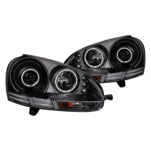 anzo volkswagen jetta with factory halogen headlights. Black Bedroom Furniture Sets. Home Design Ideas
