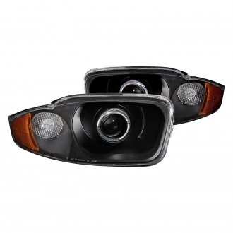 Anzo Black Led Halo Projector Headlights