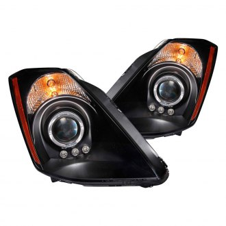 Anzo® - Black Halo Projector LED Headlights