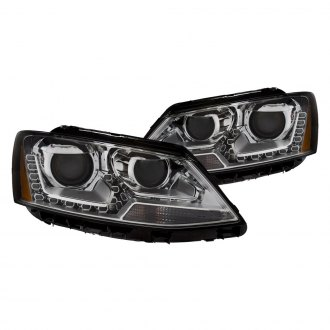 Anzo® - Chrome Projector LED Headlights