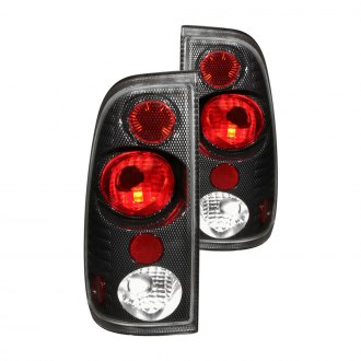 Anzo® - Carbon Fiber Euro Tail Lights