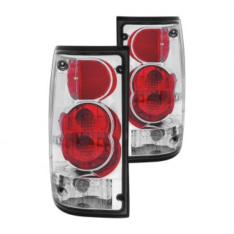 Anzo® - Chrome/Red G2 Euro Tail Lights