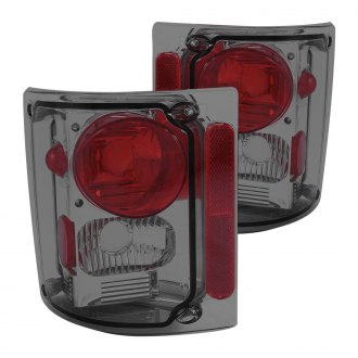 Anzo® - Chrome Red/Smoke Euro Tail Lights