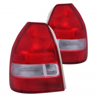 Anzo® - Chrome/Red OE Style Tail Lights