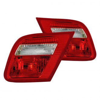 Anzo® - Chrome/Red Tail Lights