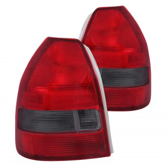 Anzo® - Chrome Red/Smoke OE Style Tail Lights