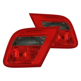 Anzo® - Chrome Red/Smoke Factory Style Tail Lights