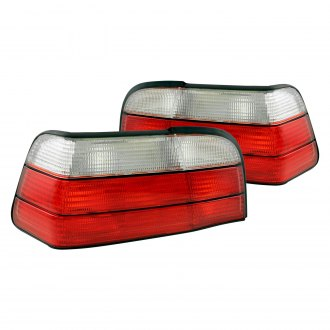 Anzo® - Chrome/Red OEM Style Tail Lights