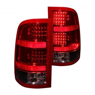 Anzo® - Black/Red LED Tail Lights