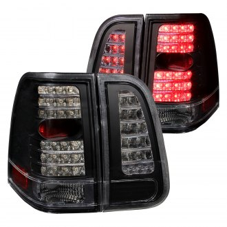 Anzo® - Black LED Inner Trunk Lights and Outer Tail Lights