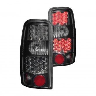 Anzo® - Black/Smoke LED Tail Lights