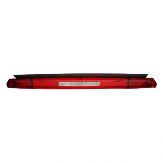 Anzo® - Chrome/Red LED Tail Lights with 3rd Brake Lights