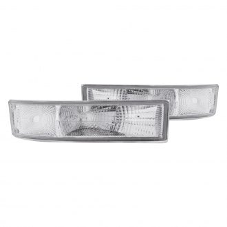 Anzo® - Chrome Crystal Turn Signal/Parking Lights