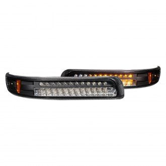 Anzo® - Black LED Turn Signal / Parking Lights