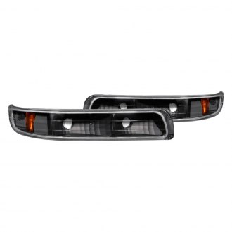 Anzo® - Black Crystal Turn Signal / Parking Lights