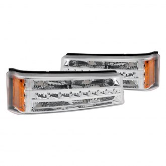 Anzo® - Chrome/Amber LED Turn Signal / Parking Lights