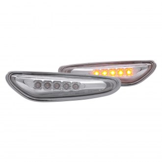 Anzo® - Chrome/Smoke LED Side Marker Lights