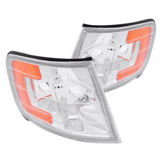 Anzo® - Chrome Crystal Turn Signal/Corner Lights