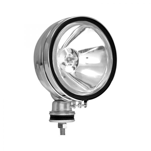 "Anzo® - Halo 6"" 55W Round Chrome Housing Spot Beam Fog Light"