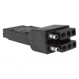 Anzo® - Dual 4-Wire Flat Trailer Wire Adapter