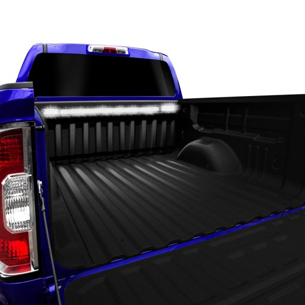 Anzo® - White LED Truck Bed Light Bar w/ Rechargeable Flash Lights