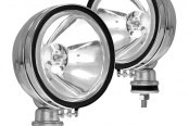 Anzo® - 6'' Chrome Round Halogen Fog Light Assembly