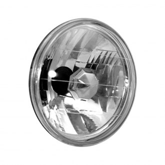 "Anzo® - 7"" Round Chrome High/Low Beam Euro Headlight"