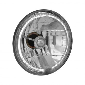 "Anzo® - 7"" Round Chrome High/Low Beam CCFL Halo Euro Headlight"