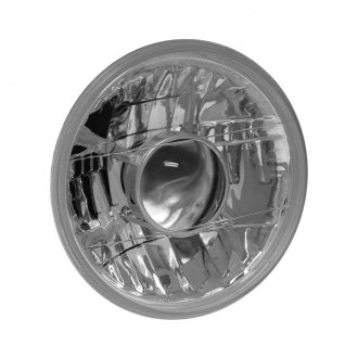 "Anzo® - 7"" Round Chrome High/Low Beam Projector Headlight"