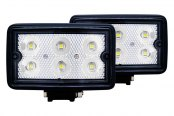 Anzo® - 3.5'' Rectangle LED Fog Light Assembly