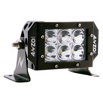 Anzo® - Black Short LED Offroad/Racing Lamp
