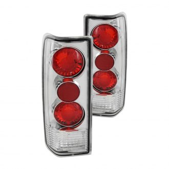 Anzo® - Chrome Euro Tail Lights G2