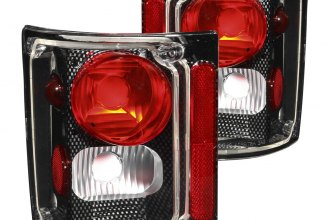 Anzo® - Chrome Euro Tail Lights