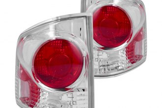 Anzo® - Chrome 3D Euro Tail Lights
