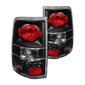 Anzo® - Black LED Style Tail Lights